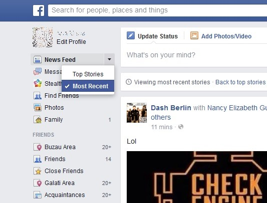 Facebook-последние-рассказы