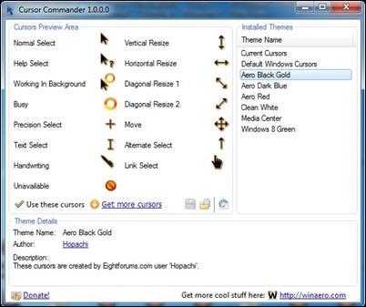 cursor-commander