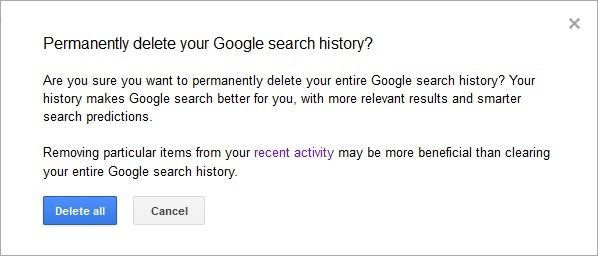 delete-google-search-Zgodovina