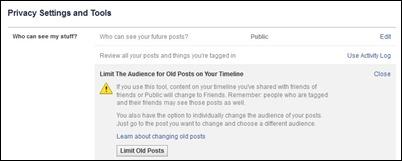 facebook-limit-old-postów
