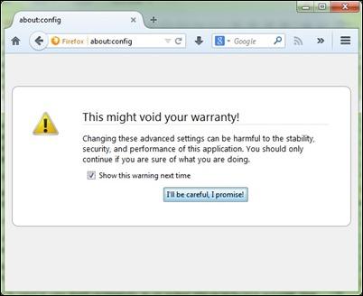 Firefox-par-config-brīdinājums