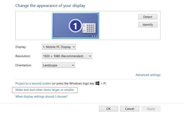 rezolucija zaslona-settings
