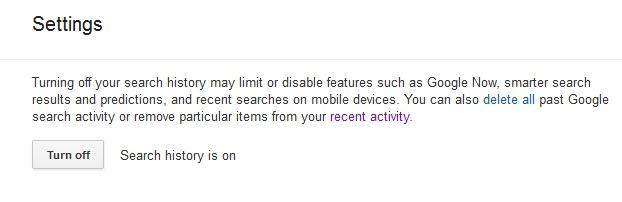 turn-off-google-search-Zgodovina