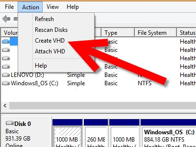 how to create a virtual floppy drive on windows 8