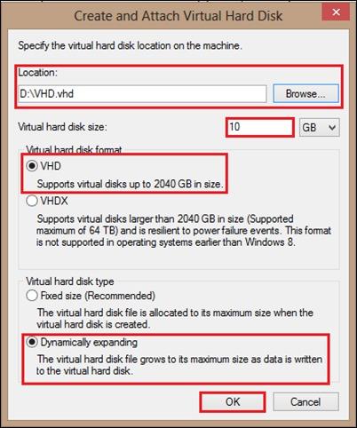 創建虛擬-HDD