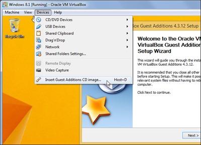 install-külaline-lisandused-virtual-box