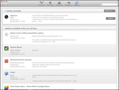 mac-app-חנות-עדכונים