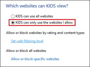 select-only-allowed-websites