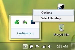desktopс-опције