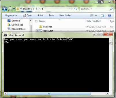 lock-personal-folder