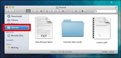 rask tilgang-delte-filer mellom-brukere-mac