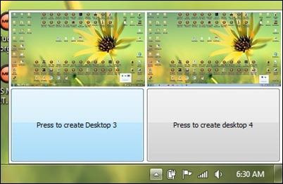 switch desktops