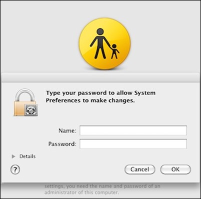 OS X Parental Controls-