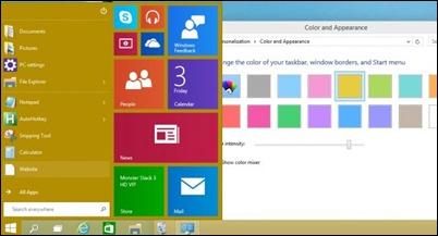 change-start-menu-background-color