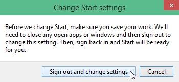 change-start-settings