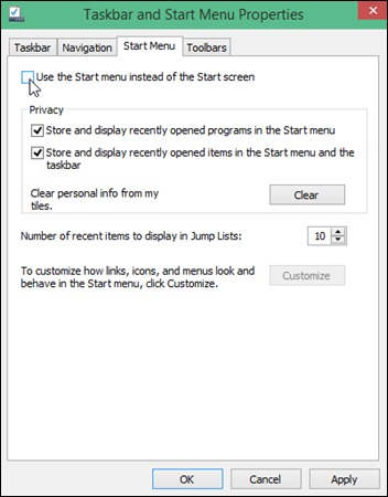 disable-start-menu-windows-10