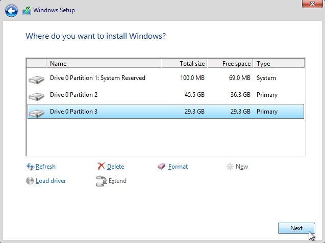 select-partition-to-install