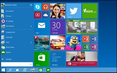 windows10-start menu