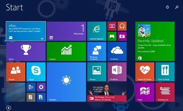Windows 10 Startbildschirm ändern