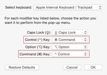 How to enable Ctrl + C and Ctrl + V shortcuts on a Mac OS X ...