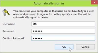 Automaticamente confirmar-signin