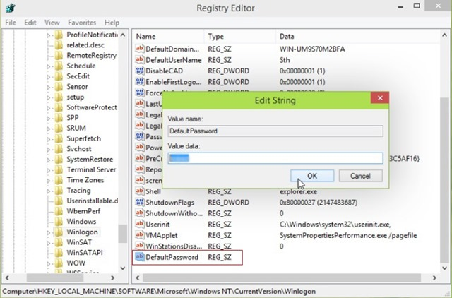 default-Κωδικός πρόσβασης