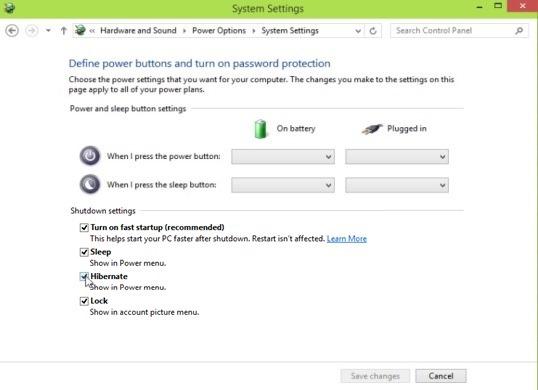 Como habilitar o hibernate no windows 10 opes de invisibilidade permitir hibernate ccuart Gallery