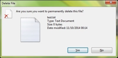 Permanentemente Elimina-file