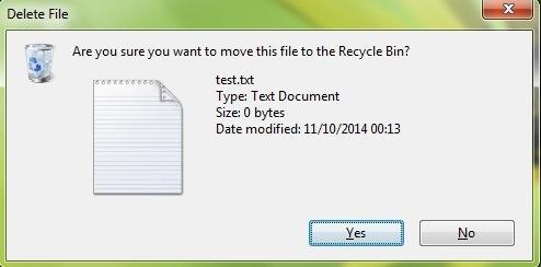 siųsti-file- į šiukšliadėžę