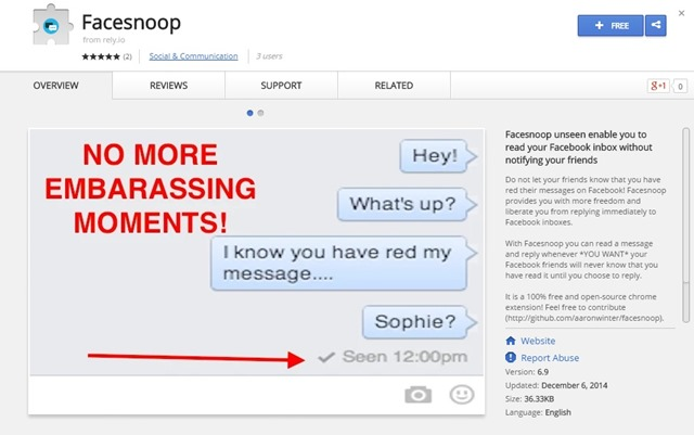 how to stop messages on facebook chat