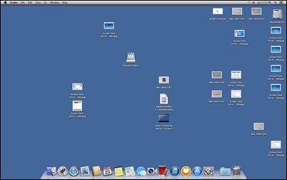 OSX-שולחן עבודה-סמלים