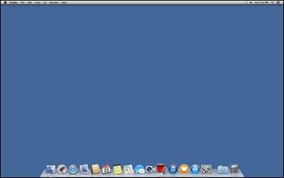 OSX-hide-שולחן עבודה-סמלים