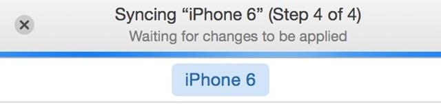 Sinchronizavimas-iPhone