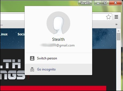 cherome-käyttäjä-Profile-Button