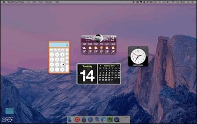 osx-dashboard overlay