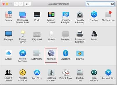 OSX-system-التفضيلات