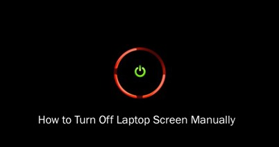 turn-off-screen laptop