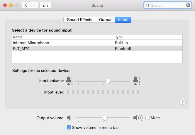 Hook up mic to macbook pro