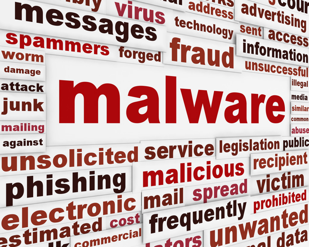 Malicious malware-warning-mess