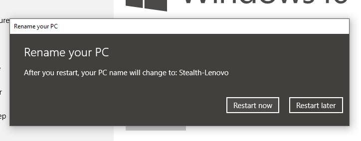 Nombre del PC