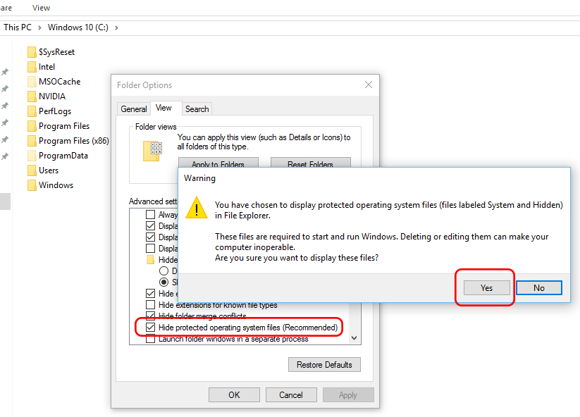 顯示隱藏_folders