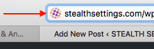 Stealth Settings Favicon