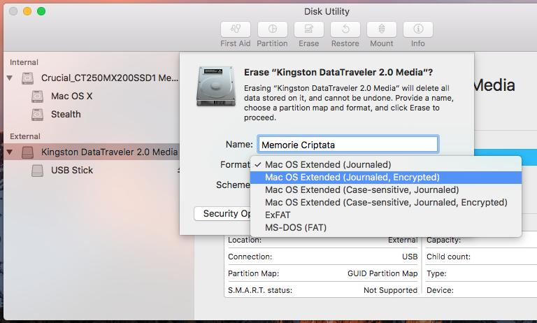 šifrování-USB-flash drive