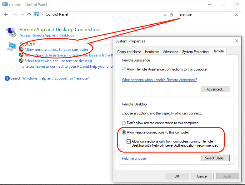 Verbinding Maken Met Extern Bureaublad Met Een Windows Pc