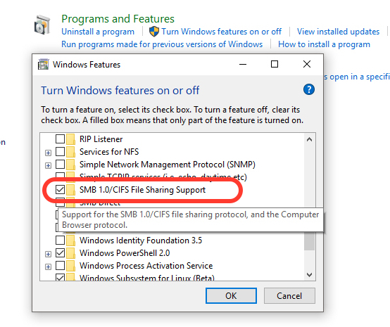 How to Protect Windows PC by Ransomware by Disabling SMBv1