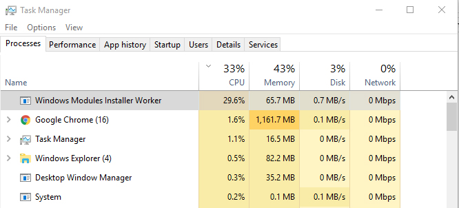 Fix Windows Installer Worker (TiWorker.exe) High CPU \u0026 Disk Usage
