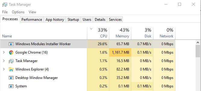 Fijar Windows Módulos De Trabajo Del Instalador Tiworker