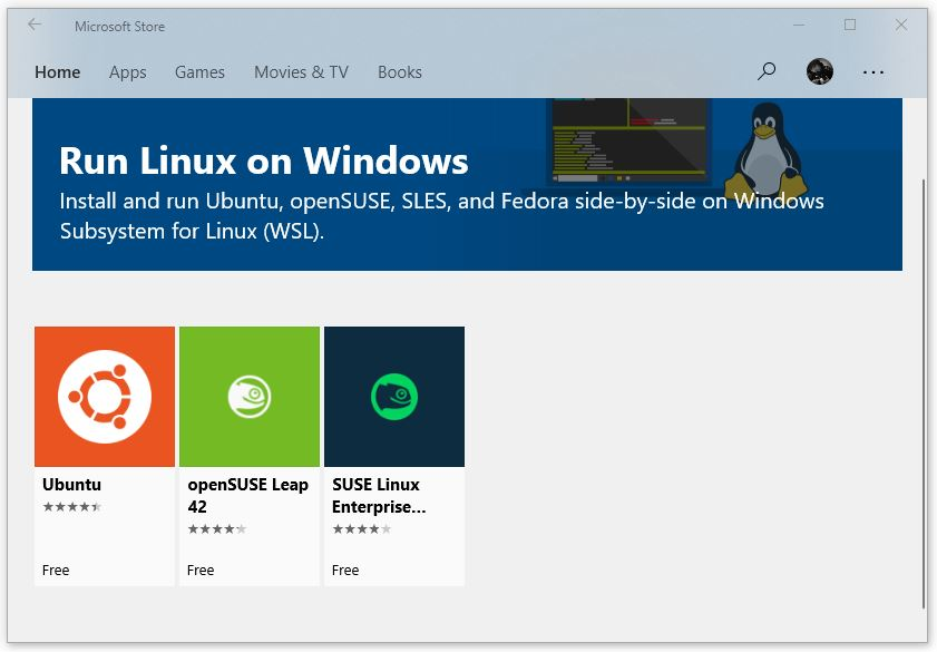 How to install and run Linux Ubuntu and openSUSE on Windows