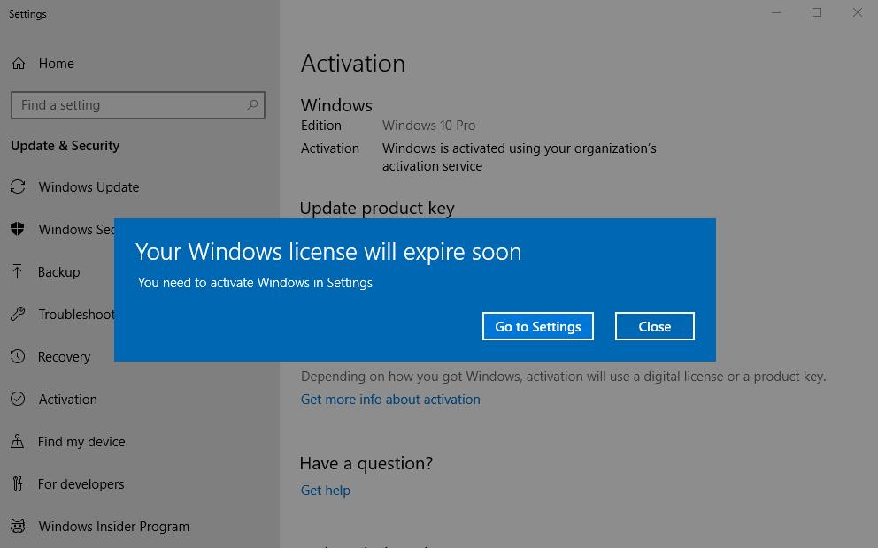"Microsoft Fix It Center >> Fix ""Your Windows License Will Expire Soon"" - Windows 10 ..."