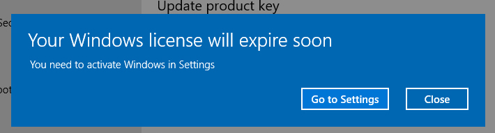 someone called saying they are from microsoft and that my windows license key has expired